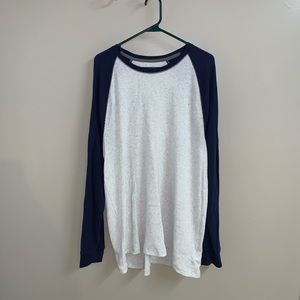 Soft-Washed Thermal-Knit Raglan Tee for Men